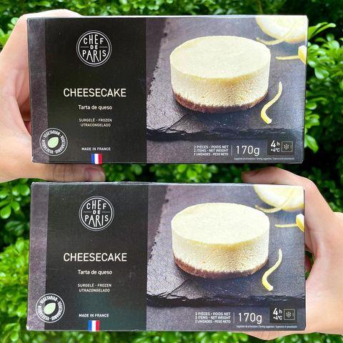 #全台美食 #家樂福 家樂福新品上市😝現在也能買到法國進口香濃的起司蛋糕,完全不輸給外面賣的哦🙈 🧀️法國Paris冷凍起司蛋糕 $149 (2入) 入口起司...