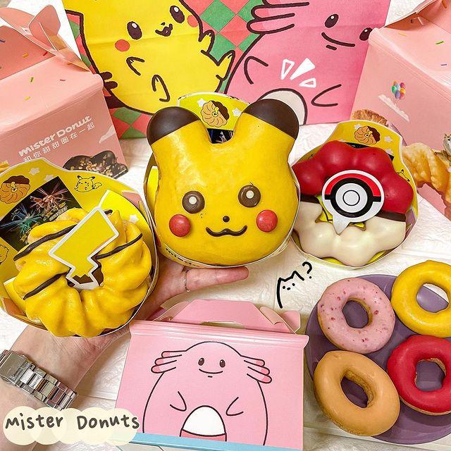 📍全台|Mister Donuts|皮卡丘聯名 #塔妮吃飽飽 misterdonut_taiwan - 聽說現在的小朋友都對皮卡丘無感了嗎(抖 不管有沒有代溝這件...