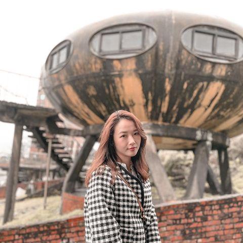 新北市 X 飛碟屋🛸 隱藏在北海岸的風景區的秘境 超喜歡外星人的一切👽👽 廢墟的感覺真的更神秘 飛碟屋的正前方就是太平洋🌊🌊 滿滿的飛碟🥏 奇妙又可愛 🥰🥰 ...