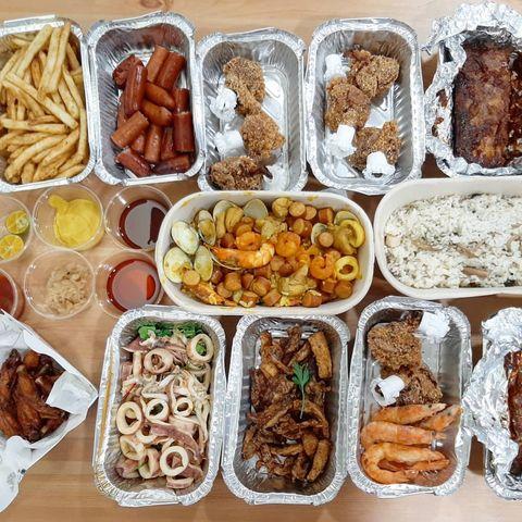 別懷疑這是四人午餐😅 金色三麥外帶66折 #food #foodie #taiwan #taiwanesefood #eat #instafood #食 #fo...