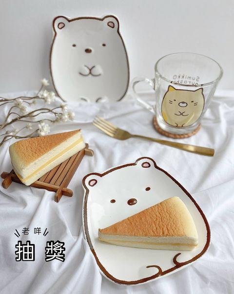 #文末抽獎 #老咩抽獎 大家以為抽蛋糕嗎?不! 是抽正版角落生物「白熊造型瓷盤」和「貓咪玻璃杯」 其實破千的時候就買了 一直拖到現在😅 不過還是要先來評價一下...