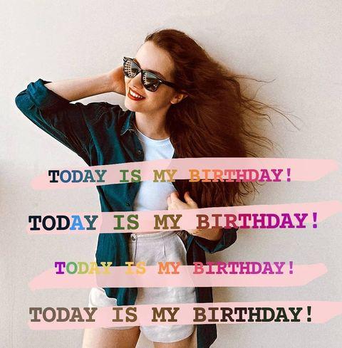 Eveet! Bugün benim doğum günüm! Bunun için çok mutlu ve heyecanlıyım. Uzun süredi...