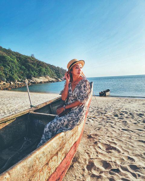 來馬祖天后宮除了可以進去參拜外還可以到下方的沙灘去走走哦 底下沙灘的景色可是美的不得了😍😍 #travel #travelphotography #trave...