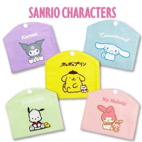 日本直送🎌Sanrio Chatacters布口罩套 #saipan_hk_sanrio 💰hk$70 🚚約一個月內到貨 ✅尺寸:關閉時/ 12.3×14c...