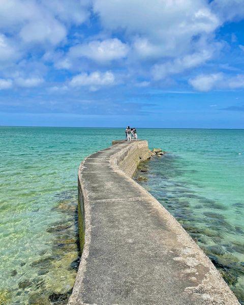 碧海藍天💙 正所謂綠色的海🌊藍色的天空☁️ 就是這樣子😍😍😍 ✨✨✨超美~~~ 原來這就是一直想再來魔力🔮 . . 📝我的第一次澎湖之旅2021.05.14☀...