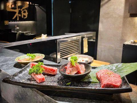 老饕蓋肉真的好好吃😍 #Taichung #台中 #柏和牛 #和牛燒肉 #wagyuyakiniku #和牛 #wagyu #老饕蓋肉 #肋眼芯 #莎朗 #牛肋條...