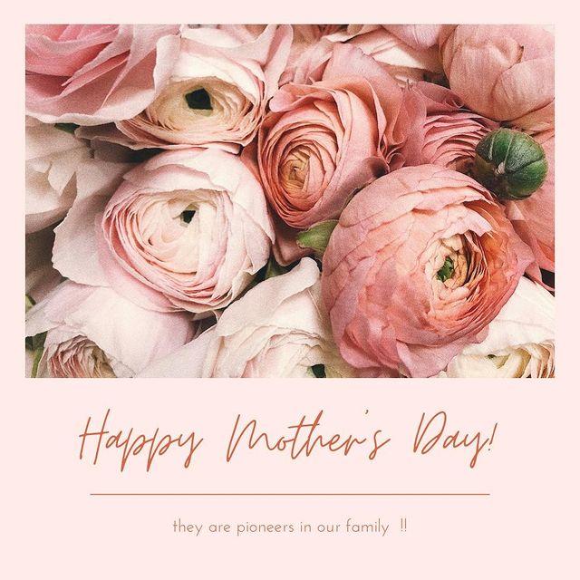 ❤️母親節快樂❤️ 明天就是母親節囉~~ 小編先祝福母親們母親節快樂❤️ 說到母親節 送花是最應景的禮物💐🌺🌹🌷 但你知道不同文化中 母親節代表的花卉也不同嗎...