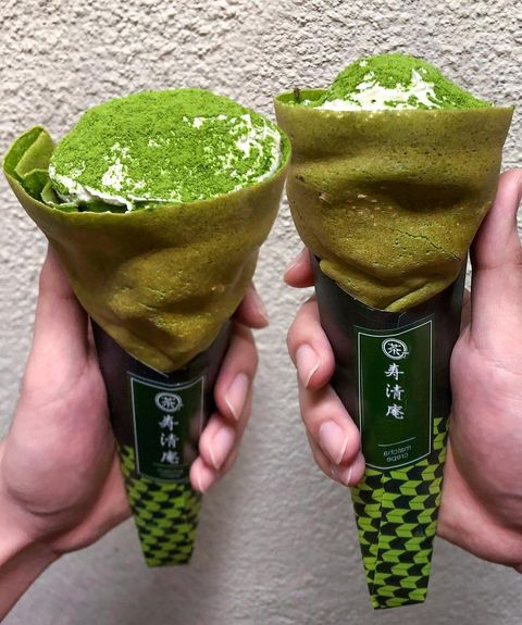 📍日本 • 淺草馳 #寿清庵 - ▪️#抹茶CREPE - 🌸最近真的好~想~飛~~ 請容我懷念💓💓💓 - 這家一直想介紹給愛抹茶的人! 身為抹茶勝地的日本真的讓...