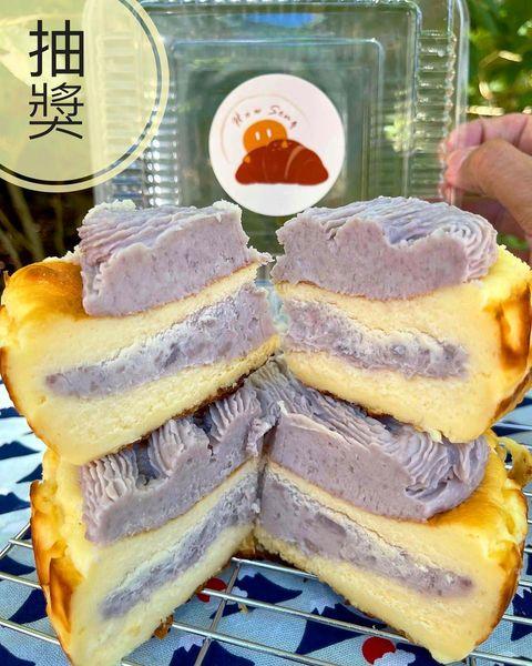 這芋頭超厚實🈵️ 好頌專賣巴斯克流心乳酪蛋糕 他們推出各種厲害巴斯克蛋糕🧀️ 像這款芋頭巴斯克真的芋頭滿滿 上面就有濃厚的芋頭還有芋頭塊 巴斯克吃起來本身有香濃的...