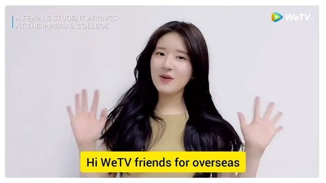 [WeTV update a New video message of Lusi] The way Awwwww my heart🙊 her english ac...
