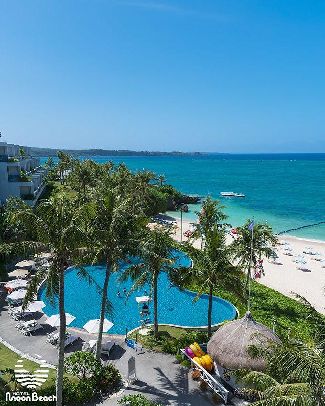 9月29日、ラグーンプールとビーチ Lagoon pool & beach September 29.2021 #ムーンビーチ #リゾート #沖縄 #沖縄観光 #...